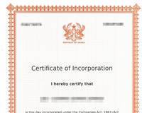 Company Registration in Ghana, for Investment, Trade of Gold and Diamonds